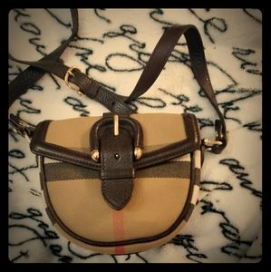 Burberry women's mini crossbody purse